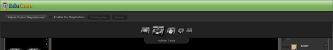 EduCase Features Author Tools Header