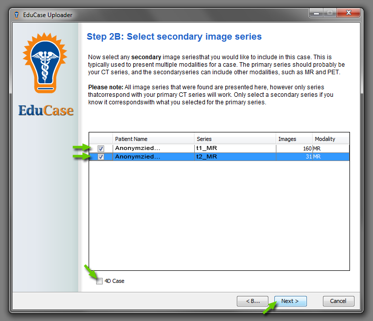 EduCase Features Uploader Tool Secondary Image Series